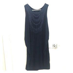 Liz Lange knit maternity tank dress, med